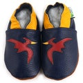 Pterodactyl Dinosaur Soft Sole Leather Baby Shoes
