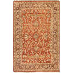 Hand-knotted Thea Wool Rug (9' x 13')