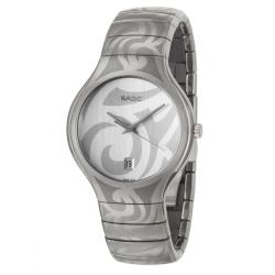 Rado Men's 'Rado True' Titanium/ Ceramic Quartz Watch