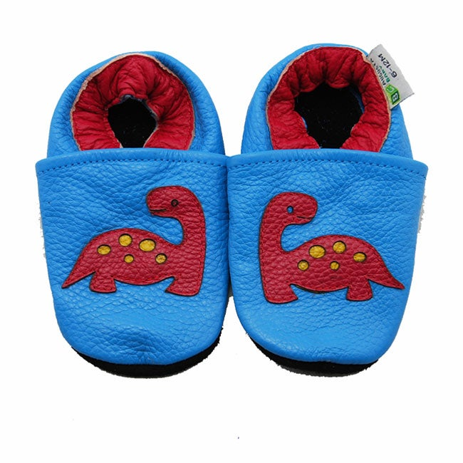Dinosaur Soft Sole Leather Baby Shoes