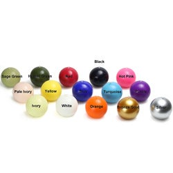 4-inch Ball Candles (Set of 2)