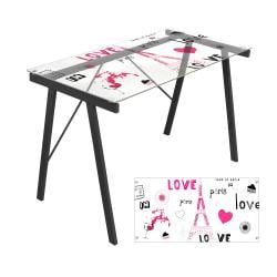 Love in Paris Office Desk/ Drafting Table