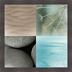 Jennifer Broussard 'Ocean Dream' Framed Print Art