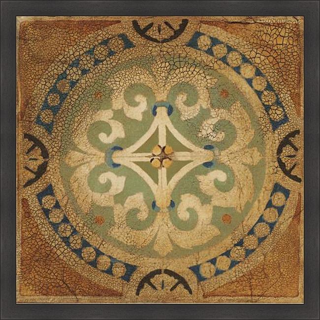 Liz Jardine 'Petite Tiles IV' Framed Print
