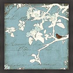 Amy Melious 'Song Birds III' Framed Print