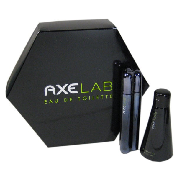 Axe Lab Men's Gift Set 1.7-ounce Eau De Toilette Cologne Spray