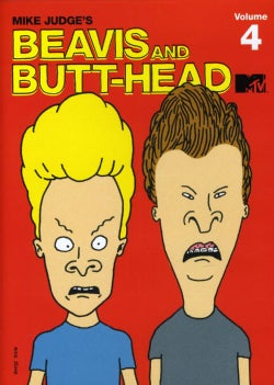 Beavis & Butt-Head: The Mike Judge Collection Vol. 4 (DVD)