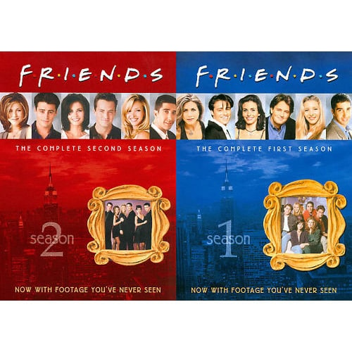 Friends: Seasons 1-2 (DVD)