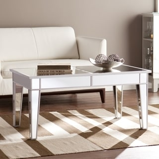 Upton Home Dalton Mirrored Cocktail Table