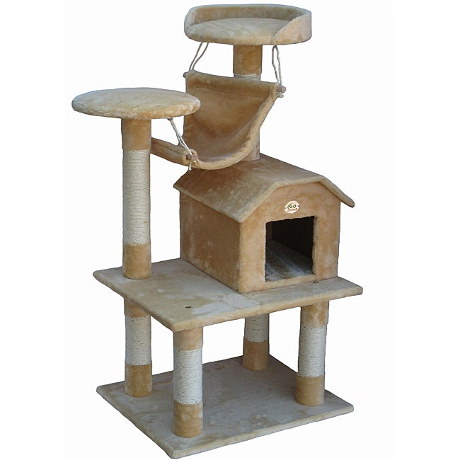 Go Pet Club Pressed Wood Cat Tree Furniture 13998666 Shopping The Best