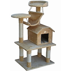 Go Pet Club Pressed Wood Cat Tree Furniture