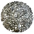 Tree of Life 24-inch with Buds Haitian Wall Art (Haiti)