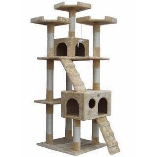 "Go Pet Club 72"" Cat Tree Furniture"