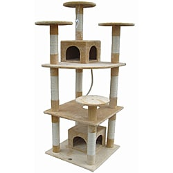Go Pet Club Faux-Fur Cat Tree Furniture