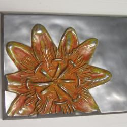 Alex Pagulayan Passiflora Handmade Metal Wall Panel (Philippines)