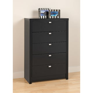 Valhalla Designer Series Black 5-Drawer Chest