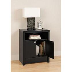 Valhalla Designer Series Black 2-Door Nightstand