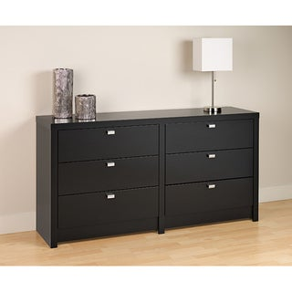 Valhalla Designer Series Black 6-Drawer Dresser