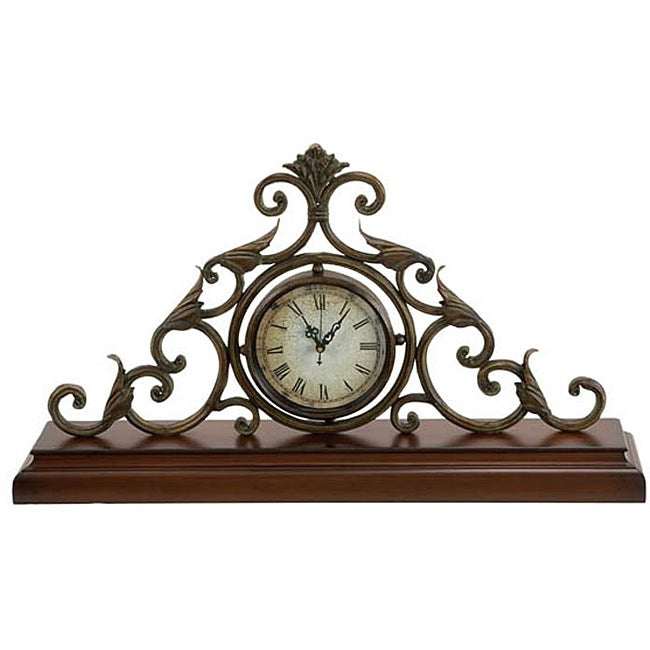 Casa Cortes Milano Classic Mantle Accent Clock
