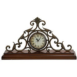 Casa Cortes Milano Classic Mantle Accent Clock