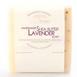 Pack of 2 Shea Yeleen Lavender Shea Butter Soap (Ghana)