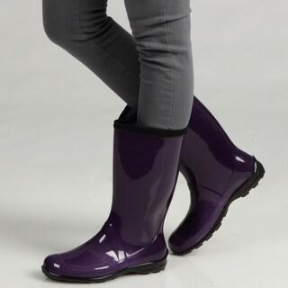 Kamik Women's 'Heidi' Yellow Rain Boots