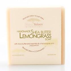 Pack of 2 Shea Yeleen Lemongrass Shea Butter Soap (Ghana)