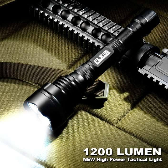 Barska 1200 Lumen High-power Tactical Flashlight
