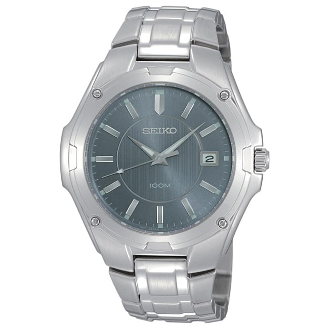 Seiko Men's Stainless Steel Dress Watch