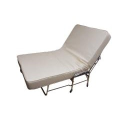 Folding Rollaway Bed Twin-size with 6-inch Foam Mattress
