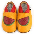 Watermelon Soft Sole Leather Baby Shoes