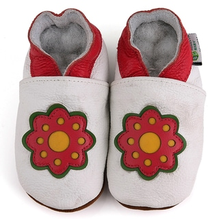 Flower Soft Sole Leather Baby Shoes