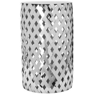Safavieh Chic Weaver Stainless Steel End Table