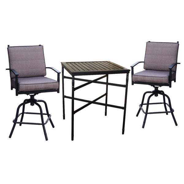 Balcony 3-piece Bistro Set