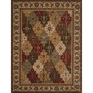 Dorchester Beige/ Multi-colored Rug (9'8 x 12'8)