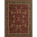 Dorchester Red/ Charcoal Powerloomed Rug (9'8 x 12'8)