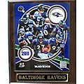 Baltimore Ravens Large 2011 Plaque