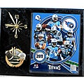 Tennessee Titans Collectible Photo Clock Plaque