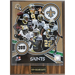 New Orleans Saints Small 2011 Plaque