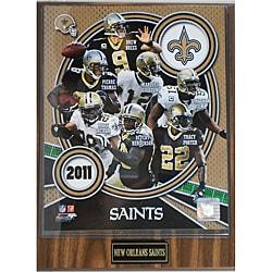 New Orleans Saints Small 2011 Plaque