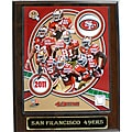 San Francisco 49ers Large 2011 Plaque