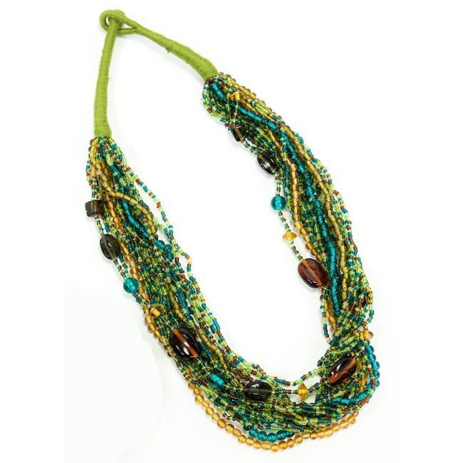 Melange Green Necklace (India)