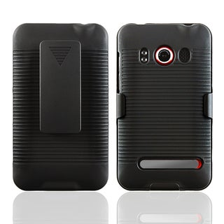 Black Swivel Holster with Stand for HTC EVO 4G