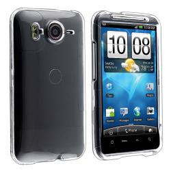 INSTEN Clear Snap-on Crystal Phone Case Cover for HTC Inspire 4G