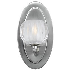 Triarch International Cosmo Satin Nickel 1-light Sconce