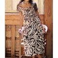 Cotton Batik 'Bali Shadows' Dress (Indonesia)