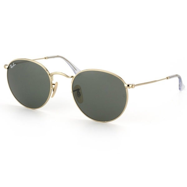 Ray-Ban Unisex Gold Round Fashion Sunglasses