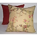Garden Floral Antique Throw Pillows (Set of 2)