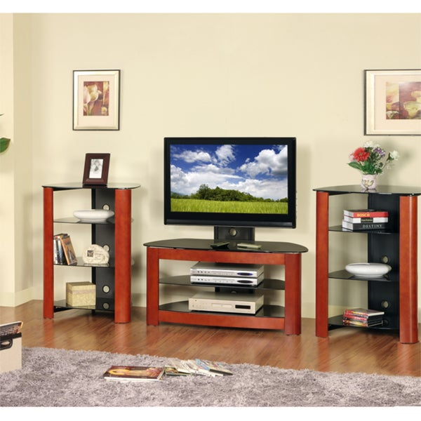 42-inch TV Stand with 2 Component Stands