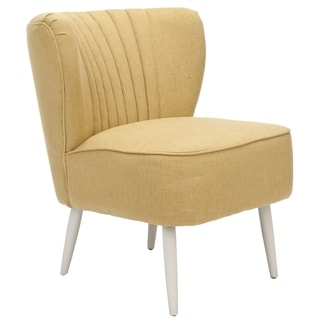 Safavieh Retro Light Gold Accent Chair